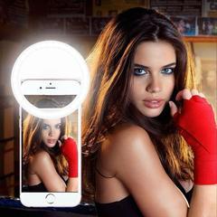 Светодиодное кольцо для селфи - Селфи лампа   - Selfie Ring Light
