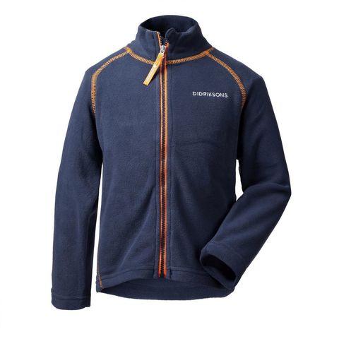 Куртка флис Didriksons Monte kids (синий) 502008-39