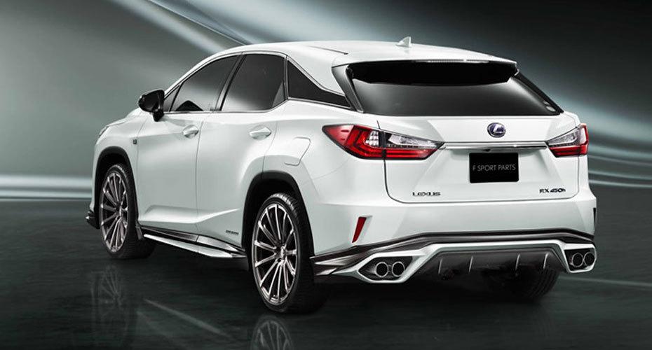 Обвес TRD для Lexus RX200t/RX450h Копия