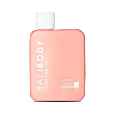 BALIBODY Масло для загара с экстрактом персика с защитой SPF 6 Peach Tanning Oil