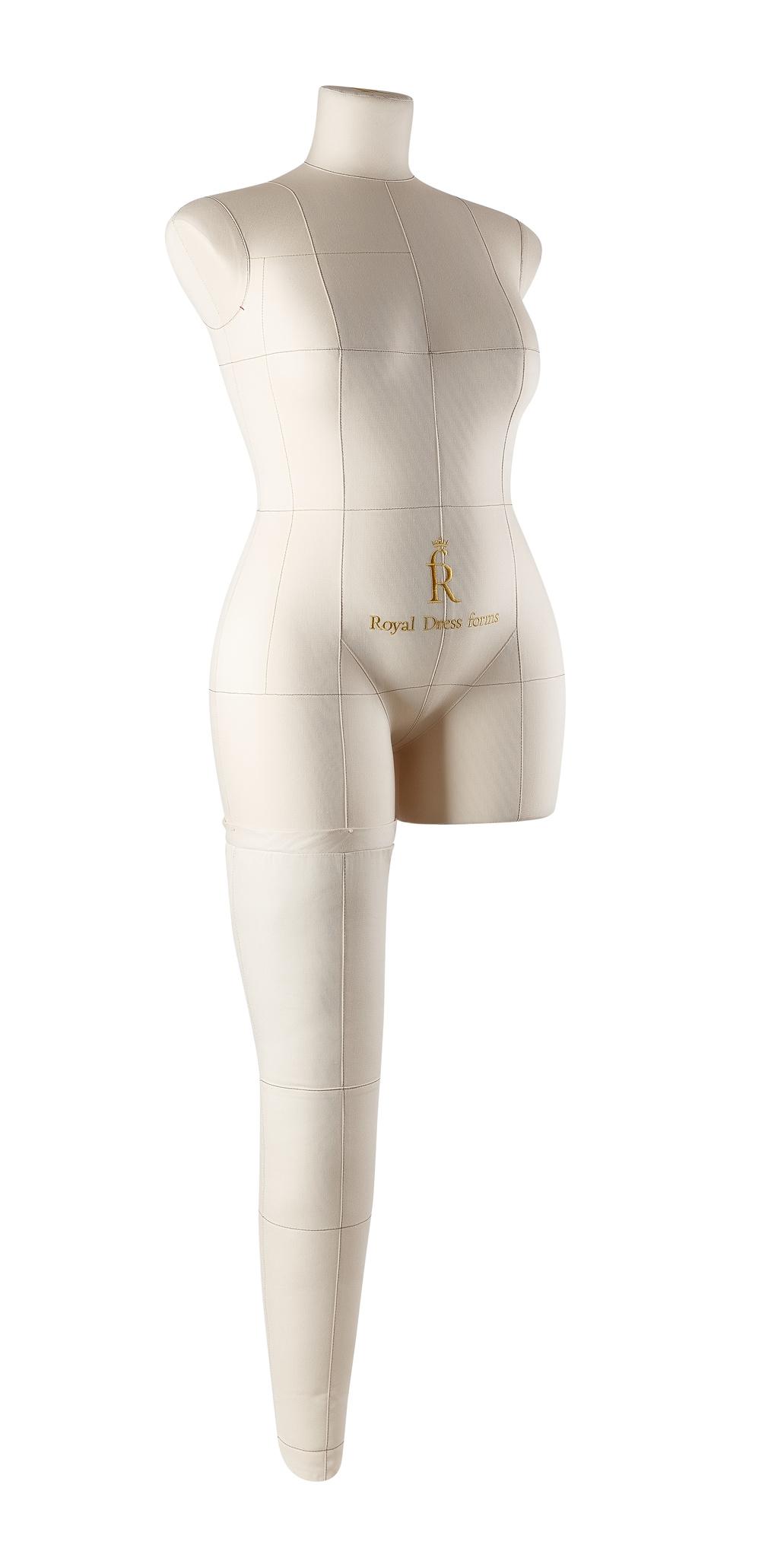 Нога бежевая для манекена Моника, 48 размер