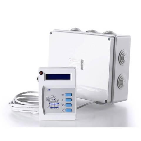 Пульт управления к паротермальным печам для бани и АЭГПП (ПУ - 01 МП  9 - 12/380)