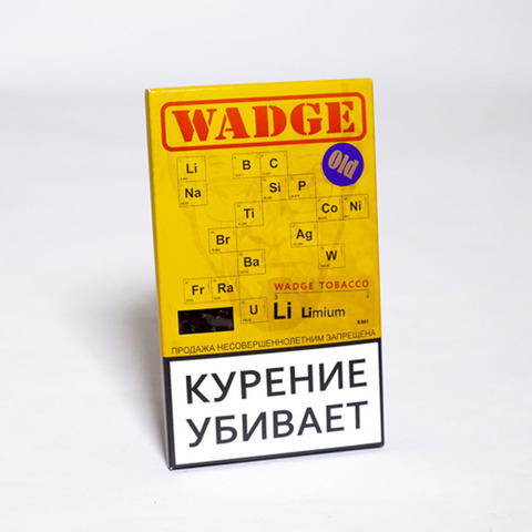 Табак WADGE OLD 100gr Limium