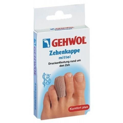 Gehwol (Геволь) - Супинаторы Гель-полимер: Защитный колпачок на палец (Zehenkappe mittel), 1шт