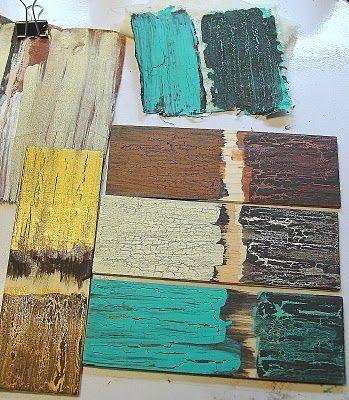 Финишный  лак с эффектом античных трещин Deco Maché Antique Crackle - Top Coat