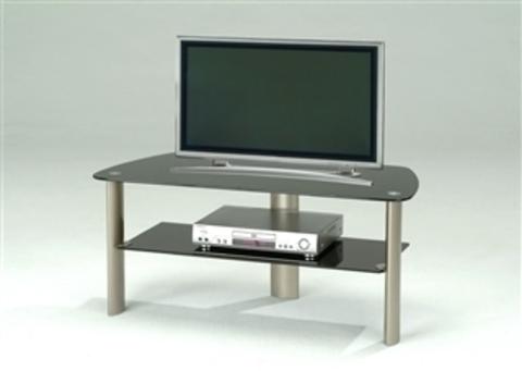 Телевизионная тумба 3165-TS серебристый