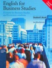 Eng for Business Studies 2Ed SB
