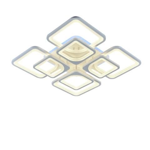 Потолочная светодиодная люстра CX-8036/4+4 WH ML