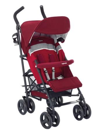 Комплект текстиля (капюшон, сиденье, накладки на ремни) на коляску Inglesina Trip, цвет Red (красный)