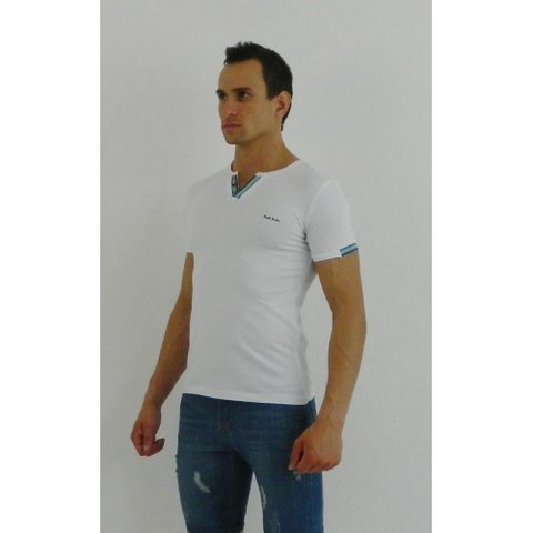 Мужская футболка поло белая Paul Smith