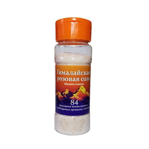 Соль пищевая гималайская, Русская Соль, розовая., 150 г