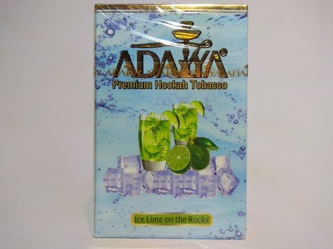 Табак для кальяна ADALYA Ice Lime On The Rocks 50 g