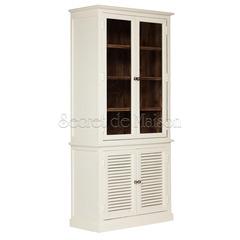 Шкаф книжный Secret De Maison RIVIERA ( mod.2126) — античный белый