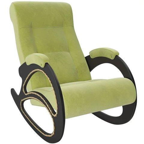 Кресло-качалка Комфорт Модель 4 венге/Verona Apple Green