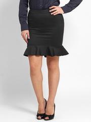 2358 юбка черная