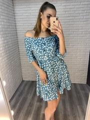 летнее шелковое платье nadya