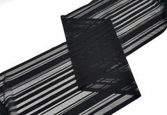 Эластичная сеточка с окантовкой, 24 см, черная, м, (Арт: EK-2285), м