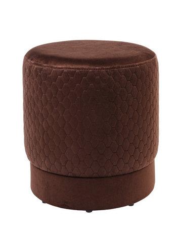 Пуф Локи 40-40  ( коричневый)
