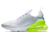 Кроссовки Женские Nike Air Max 270 White Green