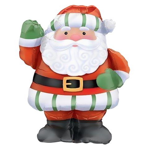 Дед Мороз с большой бородой, 94 см