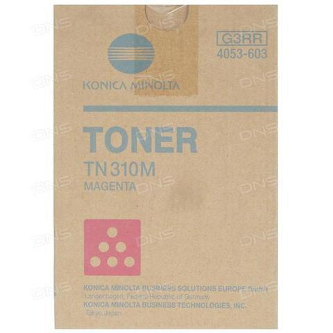 Тонер-картридж Konica Minolta TN-310M 4053603 пурпурный
