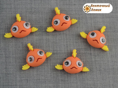 Пластиковый декор Глазастики Рыбка