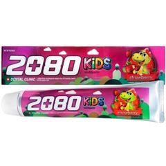 Aekyung Dental Clinic 2080 KIDS Strawberry Зубная паста детская клубничная 80 гр