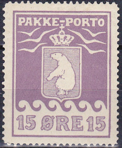 Гренландия 1915 №5А *MH