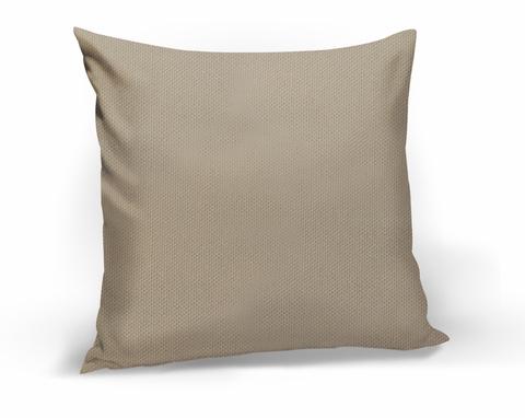 Подушка декоративная Адриана серо-бежевый