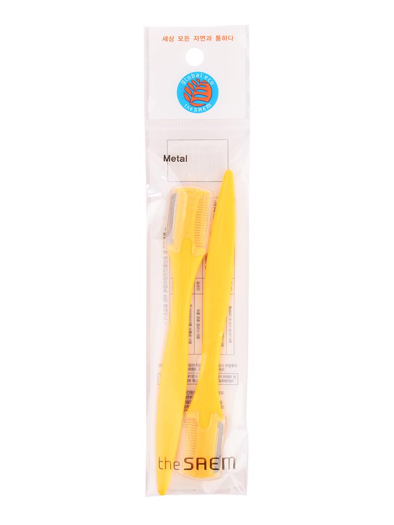 Аксессуары Щетка-корректор бровей желтая в наборе Eyebrow Trimmer(2P) i16867_1484597108_10.jpg