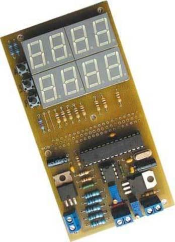 Набор деталей для сборки цифрового устройства защиты с функцией измерения