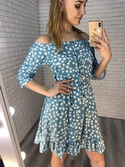летнее шелковое платье недорого