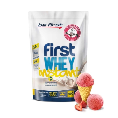 Be First First WHEY instant 900 гр