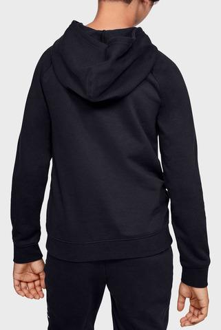 Детское черное худи Rival Logo Hoodie-BLK Under Armour