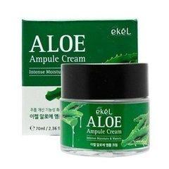 Увлажняющий ампульный крем для кожи лица Ekel с экстрактом алоэ вера 70 мл