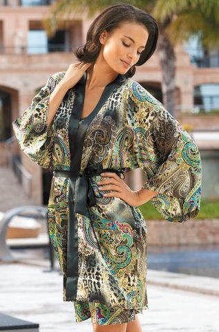 Кимоно из атласного шелка Mia Mia Фиоренза