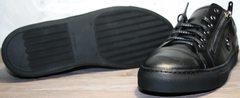 Обувь мужская на осень Ікос 1528-1 Black