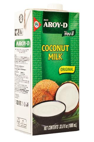 Кокосовое молоко натуральное AROY-D 60%