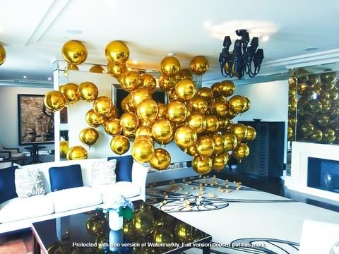 Фотозона из воздушных шаров Москва