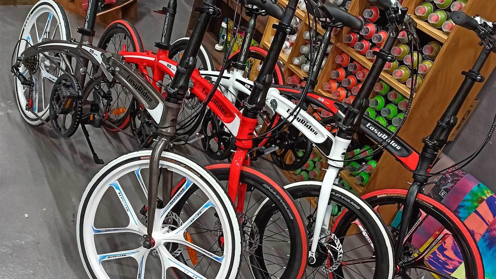 складные велосипеды литьё