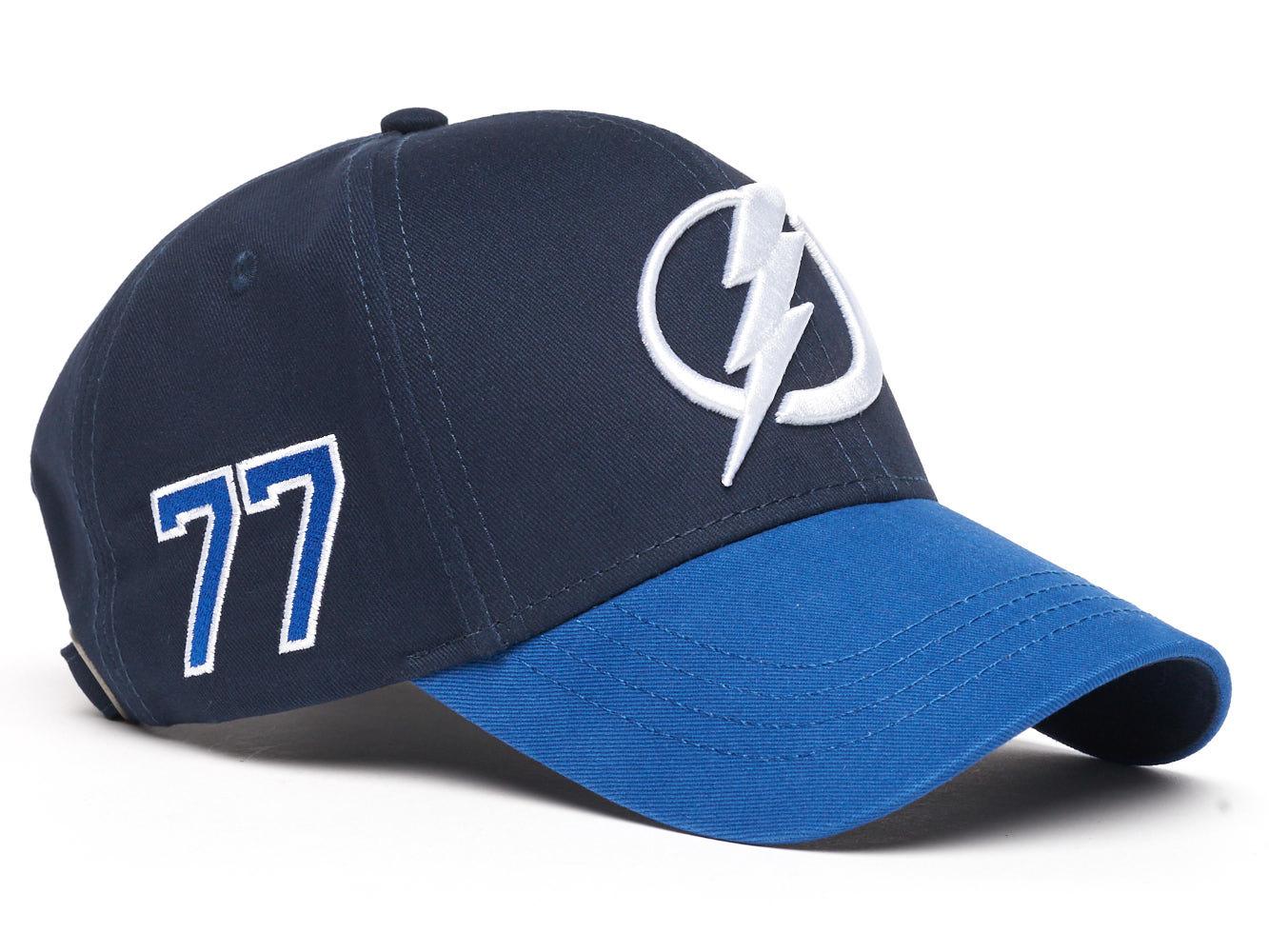 Бейсболка NHL Tampa Bay Lightning № 77