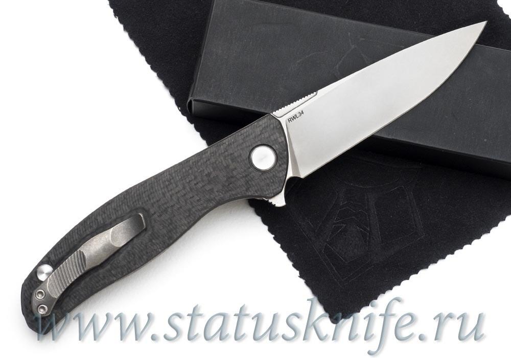 Нож Широгоров Ф3 RWL34 Карбон 3D подшипники - фотография