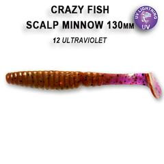 Силикон CRAZY FISH  SCALP MINNOW 5,5