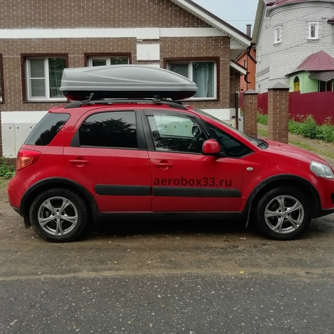 Автобокс Way-box 460 литров на крышу Suzuki SX4