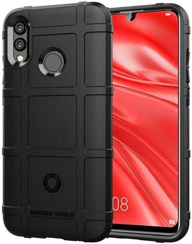 Чехол на Huawei Honor 10 lite (P Smart 2019 и Nova Lite3) цвет Black (черный), серия Armor от Caseport