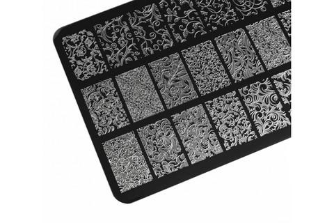 Пластина LESLY 9,5x14,5см Ornate 3