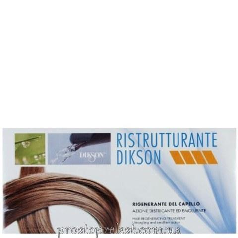 Dikson Ristrutturante - Реструктурирующий комплекс в ампулах