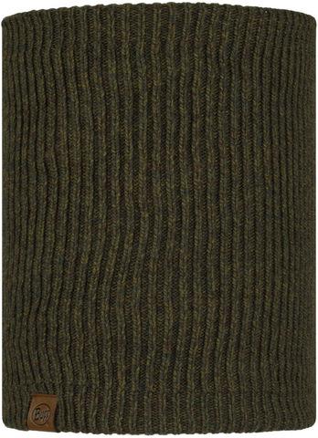 Вязаный шарф-труба с флисом Buff Neckwarmer Knitted Polar Lyne Bark фото 1