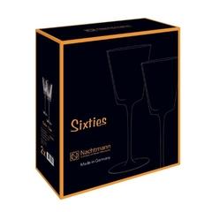 Набор из 2-х стаканов Nachtmann Sixties Lines Aqua, 360 мл, фото 3