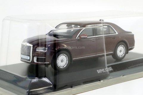 Aurus Senat 2018 dark brown 1:43 DeAgostini Auto Legends Russia #2